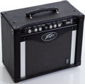 Musical Instruments:Amplifiers, PA, & Effects, 2000s Peavey Rage 258 Black Guitar Amplifier, Serial # 00383600....