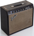 Musical Instruments:Amplifiers, PA, & Effects, 1966 Fender Princeton Black Guitar Amplifier, Serial # A03905....