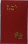 Books:Science Fiction & Fantasy, [Jerry Weist]. Larry Niven. INSCRIBED. Niven's Laws. PSFS, 1984. First edition, first printing. Signed and ins...