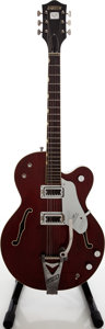 Musical Instruments:Electric Guitars, 1966 Gretsch Chet Atkins Tennessean Walnut Semi-Hollow BodyElectric Guitar, Serial # 86164. ...