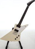 Musical Instruments:Electric Guitars, 2007 Gibson Explorer White Solid Body Electric Guitar, Serial # 014970480....