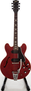 Musical Instruments:Electric Guitars, 1962-1964 Gibson ES-330 TDC Cherry Semi-Hollow Body ElectricGuitar, Serial # 72128....
