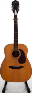 Musical Instruments:Acoustic Guitars, 1970s Holiday Natural Acoustic Guitar, Serial # 8299-1260....