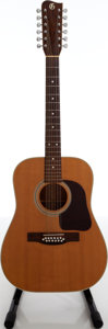 Musical Instruments:Acoustic Guitars, 1970s J.W. Gallagher & Son G-5012 Natural 12-String AcousticGuitar, Serial # 68075. ...