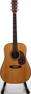 Musical Instruments:Acoustic Guitars, 1979 Martin D-28 Natural Acoustic Guitar, Serial # 409934. ...