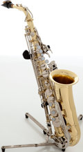 Musical Instruments:Horns & Wind Instruments, Yamaha YAS-200AD Brass Alto Saxophone, Serial # C00350....
