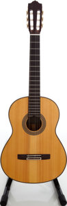 Musical Instruments:Acoustic Guitars, 1989 Yamaha GC-170SA Natural Classical Guitar, Serial #91118384....