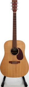 Musical Instruments:Acoustic Guitars, 2000 Martin DX1 Natural Acoustic Guitar, Serial # 776733. ...