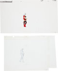 Animation Art:Limited Edition Cel, Heavy Metal Production Cel and Drawing Animation Art(Columbia, 1981).... (Total: 2 Original Art)