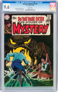 Bronze Age (1970-1979):Horror, House of Mystery #185 (DC, 1970) CGC NM+ 9.6 White pages....
