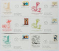 Books:Non-fiction, [First Day Covers]. Group of Six Related to the United Nations. 1967-1968. Fine....