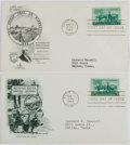 Books:Non-fiction, [First Day Covers]. Group of Two Related to Minnesota. 1949. Fine....
