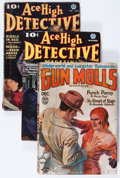 Pulps:Detective, Assorted Crime/Detective Pulps Group (Various, 1930-38) Condition:Average VG-.... (Total: 6 Items)