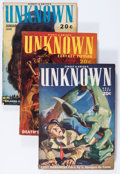 Pulps:Horror, Unknown Group (Street & Smith, 1939-40) Condition: AverageVG.... (Total: 4 Items)