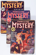 Pulps:Detective, Thrilling Mystery Group (Standard, 1936-39) Condition: AverageVG-.... (Total: 7 Items)