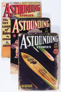 Pulps:Science Fiction, Astounding Stories Group (Street & Smith, 1934) Condition:Average VG.... (Total: 5 Items)