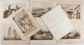 Books:Prints & Leaves, Lot of Seven Tinted Plates From 1856 War Department Railroad SurveyFeaturing Indians. From Report Upon the Indian Tribes...