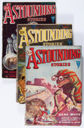 Pulps:Science Fiction, Astounding Stories Group (Street & Smith, 1931).... (Total: 3Items)