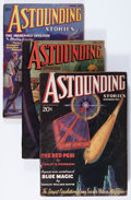 Pulps:Science Fiction, Astounding Stories Group (Street & Smith, 1935-36).... (Total:3 Items)