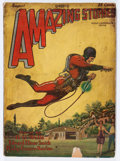 Pulps:Science Fiction, Amazing Stories - August '28 (Ziff-Davis, 1928) Condition: AverageGD/VG....