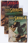 Pulps:Adventure, Doc Savage Group (Street & Smith, 1936) Condition: Average GD+.... (Total: 12 Items)