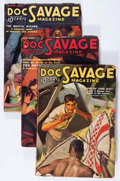 Pulps:Adventure, Doc Savage Group (Street & Smith, 1937) Condition: Average VG-.... (Total: 12 Items)
