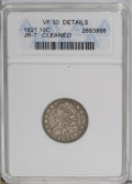 Bust Dimes: , 1821 10C Large Date--Cleaned--ANACS. VF30 Details. JR-7. NGCCensus: (12/188). PCGS Population (6/145). Mintage: 1,186,512....
