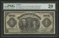 Canadian Currency: , DC-18b $1 1911. ...