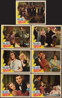 "It Started with Eve (Universal, 1941). Lobby Cards (7) (11"" X 14""). Comedy. ... (Total: 8 Items)"