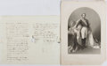 Autographs:Statesmen, Napoleon III (1808-1873, Emperor of the Second French Empire).Autograph Letter Signed. Very good....