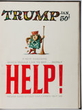 Books:Periodicals, Harvey Kurtzman [editor]. Trump. First and Only Two Issues,Custom Bound in Boards. Trump, 1957. Minor toning and ru...