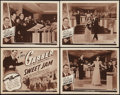 """Movie Posters:Musical, Sweet Jam (Universal, 1943). Lobby Card Set of 4 (11"""" X 14""""). Musical.. ... (Total: 5 Items)"""