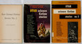 Books:Science Fiction & Fantasy, Frederik Pohl [editor]. Group of the First Three Volumes of Star Science Fiction Stories. Ballantine, 1953-1954. Fir... (Total: 3 Items)
