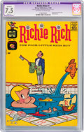 Silver Age (1956-1969):Humor, Richie Rich #1 (Harvey, 1960) CGC Apparent VF- 7.5 Slight (P) Off-white to white pages....