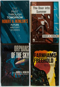 Books:Science Fiction & Fantasy, Robert A. Heinlein. Group of Four Book Club Editions. Various, 1957-1967. Spine sunned. Very good.... (Total: 4 Items)