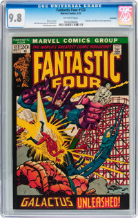 Fantastic Four #122 Savannah pedigree (Marvel, 1972) CGC NM/MT 9.8 Off-white pages