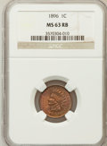 Indian Cents: , 1896 1C MS63 Red and Brown NGC. NGC Census: (96/388). PCGSPopulation (102/192). Mintage: 39,057,292. Numismedia Wsl. Price...