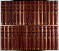 Charles Dickens. The Complete Works. Vol. I-XXX. Harpers, ca. 1900. Solid, clean set