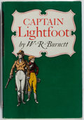 Books:Mystery & Detective Fiction, W. R. Burnett. Captain Lightfoot. Knopf, 1954. First edition, first printing. Review copy with slip laid in. Mild ru...