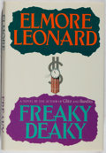Books:Mystery & Detective Fiction, Elmore Leonard. SIGNED. Freaky Deaky. Arbor House, 1988.First edition, first printing. Signed by the author. ...