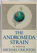 Books:Science Fiction & Fantasy, Michael Crichton. The Andromeda Strain. Knopf, 1969. First edition, first printing. Slight lean. Minor toning an...