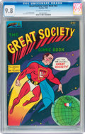 Silver Age (1956-1969):Alternative/Underground, The Great Society Comic Book #nn (Parallax Comic Books, 1966) CGCNM/MT 9.8 Off-white to white pages....