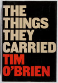 Books:Fiction, Tim O'Brien. SIGNED. The Things They Carried. HoughtonMifflin, 1990. First edition, first printing. Signed by...