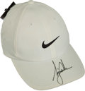 Golf Collectibles:Autographs, Tiger Woods Signed Golf Cap....