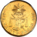 Mexico, Mexico: Republic gold 20 Pesos 1895/3 Go-R,...