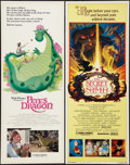 """Movie Posters:Animation, The Secret of NIMH and Other Lot (MGM/UA, 1982). Inserts (2) (14"""" X 36""""). Animation.. ... (Total: 2 Items)"""