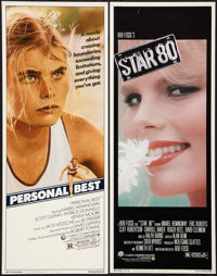 "Star 80 and Other Lot (Warner Brothers, 1983). Inserts (2) (14"" X 36""). Drama. ... (Total: 2 Items)"
