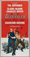 "Movie Posters:Adventure, The Buccaneer (Paramount, 1958). Three Sheet (41"" X 79"").Adventure.. ..."
