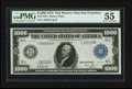 Large Size:Federal Reserve Notes, Fr. 1133-L $1,000 1918 Federal Reserve Note PMG About Uncirculated 55.. ...