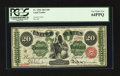 Large Size:Legal Tender Notes, Fr. 126b $20 1863 Legal Tender PCGS Very Choice New 64PPQ.. ...